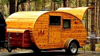 250 Tear Drop Trailers,   DIY Homemade teardrop travel trailers,  Great pics.