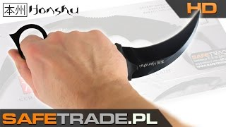 United Cutlery Honshu Kerambit with Shoulder Harness Nóż Karambit UC2791 UC2977 | www.safetrade.pl