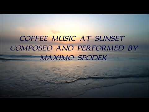 COFFEE MUSIC AT SUNSET, RELAXING JAZZ AND BOSSA NOVA, INSTRUMENTAL , STUDY, WORK, CHILL OUT