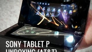 Sony Tablet P Unboxing - The Dual Screen Tablet