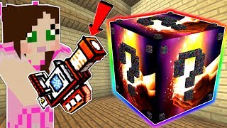 Minecraft: THE MOST OVERPOWERED LUCKY BLOCK MOD IN MINECRAFT!!! Mod Showcase  from PopularMMOs