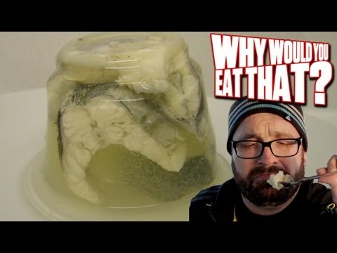 Jellied Eels aka Unagi's Evil Twin  - Why Would You Eat That?