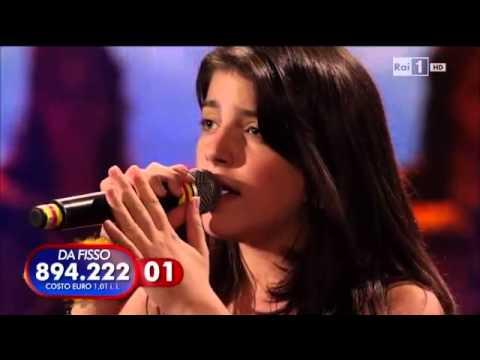 Giovanna Ferrara (vania) - Amor mio (di mina) ti lascio una canzone 27\10\2012