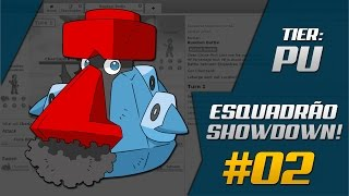 Esquadrão Showdown #02 SharK & Pallas | Smogon PU
