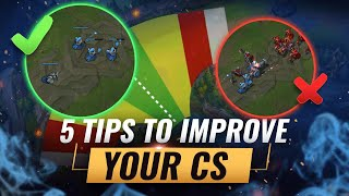 How To Farm Like a Pro: 5 Easy Tips For CSing - League of Legends Season 10