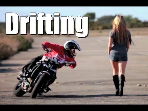 Drifting Motorbike - Drift Gymkhana - Jorian Ponomareff