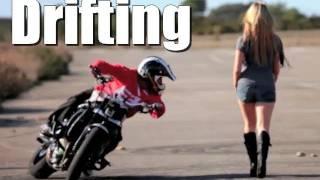 Drifting Motorbike  Drift Gymkhana  Jorian Ponomar