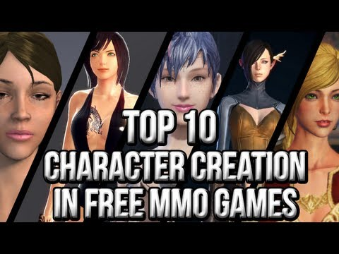 Top 10 Character Creation in Free MMO Games