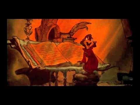 Ending song from The Secret of NIMH, sung  Sally Stevens