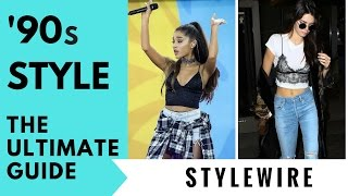 The Ultimate Guide To Rocking '90s Fashion NOW! (STYLEWIRE)