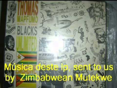 ZIMBABWE HOMMAGE- WITH IMAGES AND SONGS OF 80'. THOMAS MAPFUMO AND TATENDA