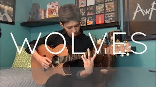 Download Lagu Wolves - Selena Gomez, Marshmello - Cover (Fingerstyle Guitar) Gratis STAFABAND