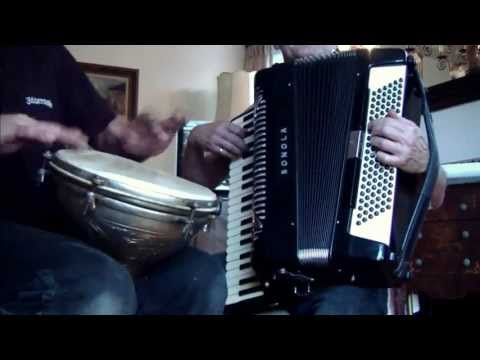 CAFÉ NOIR by Nick Ariondo ~ Accordion & Doumbek ~  featuring PatSalis