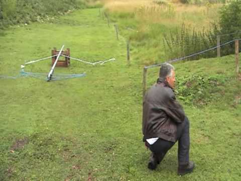 Robs Stag Day Punt Gun Firing Video