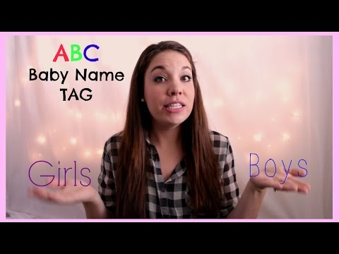 ABC BABY NAME TAG!! | Days Of May