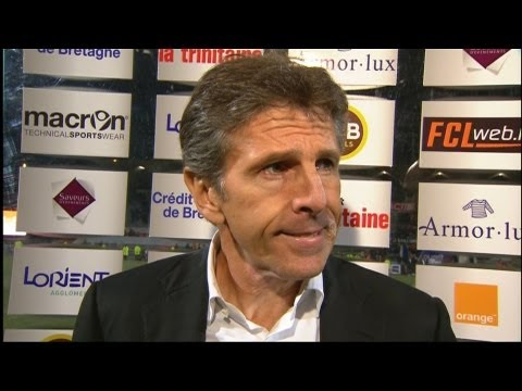 image vido  Interview de fin de match : FC Lorient - OGC Nice (1-1)