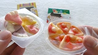 Gummi Pizza & Cheesecake Candy - Yupi & Trolli