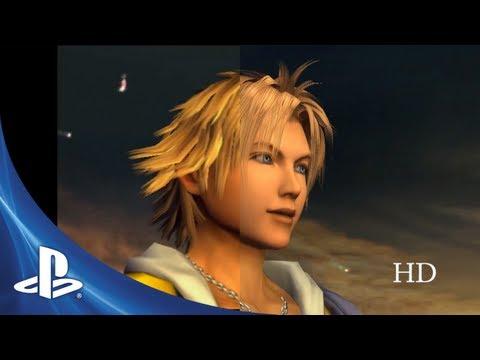 Final Fantasy X SD vs HD Comparison
