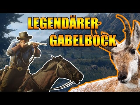 Legendärer Gabelbock Red Dead Redemption 2 - Legendäre Tiere