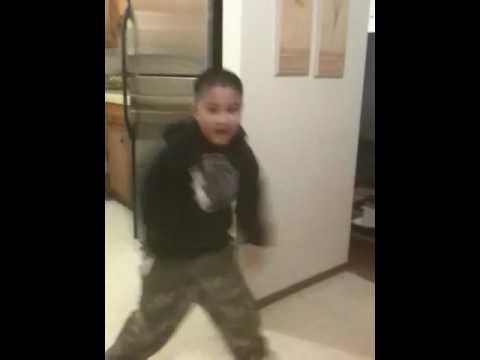 Pinoy boy dancing