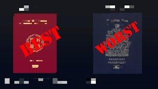 10 World's Best and Worst Passports (2017)