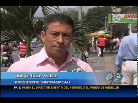 Septiembre 2 de 2014. Dirigentes sindicales de Cali denuncian amenazas