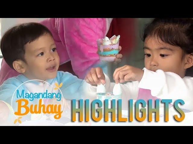 Magandang Buhay: Unicorn Cheesecake making with Carlo, Mela, Jordan & Pele