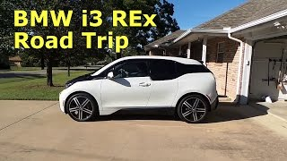 BMW i3 REx roadtrip, charging, coding, and range test.