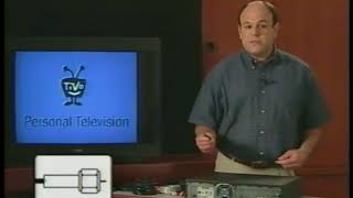 TiVo Series 1 Setup Guide on VHS