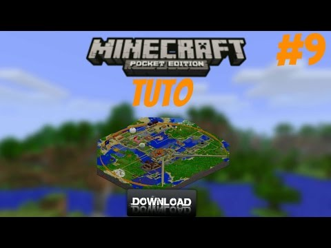 Minecraft PE Tuto #9 Installer une map