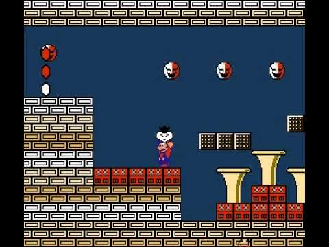 Super Mario Bros 2 - Nintendo NES - World 7 final boss - User video