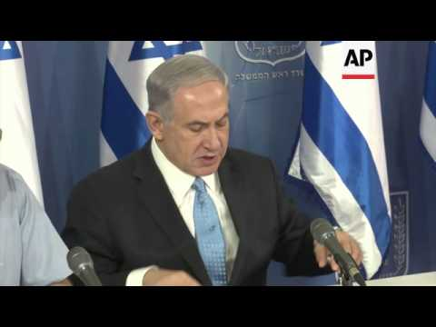 +4:3 Israeli PM warns Hamas it will pay a high price if it continues to fire rockets at Israel