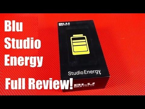 Blu Studio Energy Massive Battery Full Review