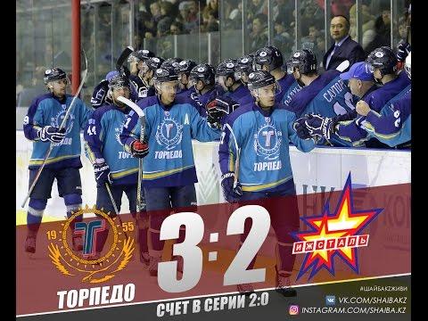 Видеообзор второго матча серии плей-офф Торпедо - Ижсталь 3:2