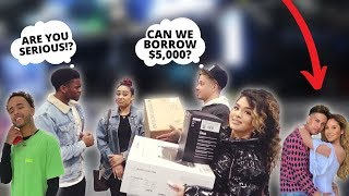 ASKING OUR YOUTUBER FRIENDS TO BORROW MONEY FOR CHRISTMAS PRESENTS! ** EXPOSED! **