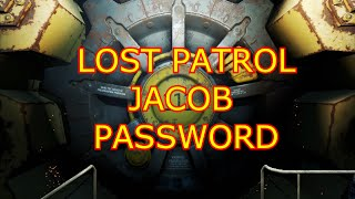 Fallout 4 - Lost patrol / Jacob password