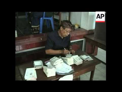 Voting begins in Bali in presidential election