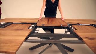 (2.09 MB) Amazing new extendable table by Ozzio - Italian space saving furniture Mp3