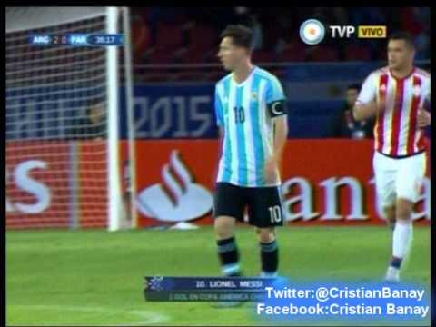 Argentina 2 Paraguay 2 (Relato Bruno Pont) Copa America 2015