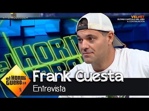 """Frank Cuesta en El Hormiguero 3.0: """"Me mordió una serpiente el doming..."""