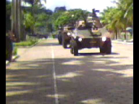 Birthday commemoration of the Brazilian 7th Mechanized Cavalry Regiment - 04/04/09