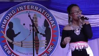 Fresno Hmong International New Year 2018: Singer#1: Christina Vang