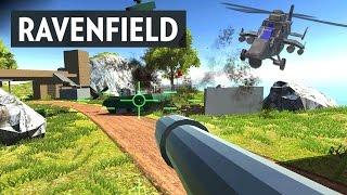 UNTURNED + BATTLEFIELD = RAVENFIELD - Simulátor Kutálení