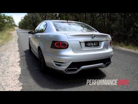 2012 HSV Senator Signature LPI engine sound and 0-100km/h