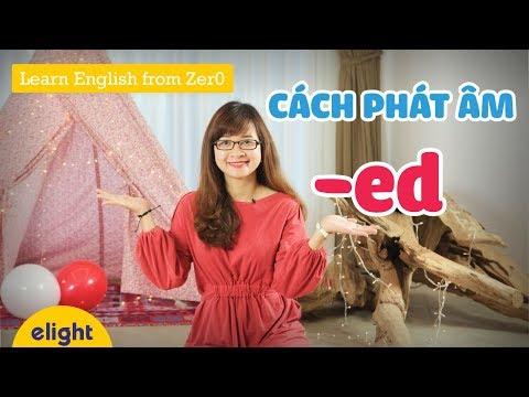 Phát âm tiếng Anh đuôi -ed | Cực đơn giản với 3 cách dễ áp dụng [Learn English From Zer0] thumbnail