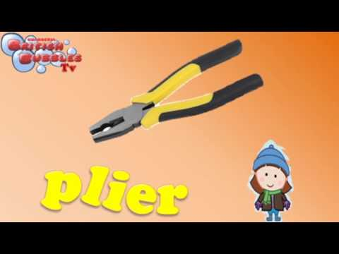 las herramientas en ingles para niños