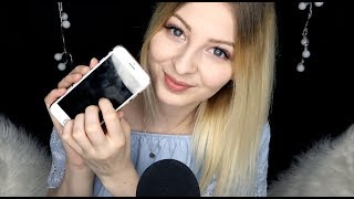 [ASMR] ♡ WHATS on my PHONE? | german/deutsch