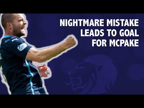 Nightmare mistake leads to goal for McPake