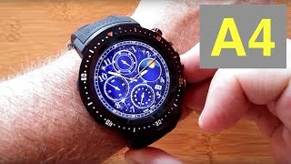 BAKEEY A4 4G Android 7.1.1 Always Time Display Smartwatch: Unboxing and 1st Look