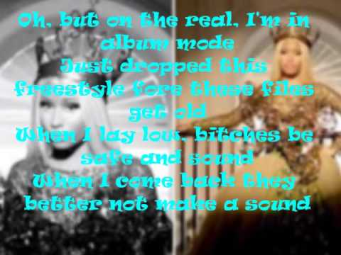 Boss Ass Bitch- Nicki Minaj Lyrics Video (NEW 2014)(REMIX)